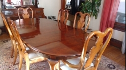 Dining set and server