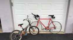 Two Bikes: Boys Schwin Spitfire and Adult Schwin Paramount Racer (Buy together or separately)