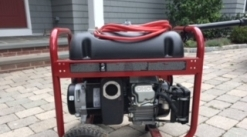 Powermate 5000 Watt Gas Powered Portable Generator - Mint Condition