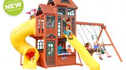 New Cedar Swing set