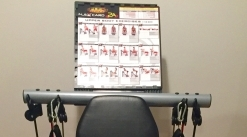 Flex Force 50-in-1 Resistance Chair Gym, Complete Workout System Home Gym