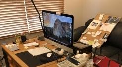 Wood desk 6x3