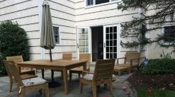 Teak Furniture, Resto Hardware SANTA BARBARA COLLECTION Tables + 6 chairs + Cushions