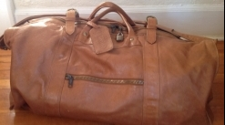 Vintage Leather Duffel