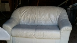 Free Couch - leather.