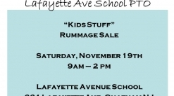 11/19/16 - Rummage Sale - ALL KIDS ITEMS