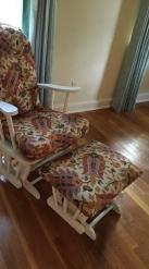 Free Glider Chair and Ottoman
