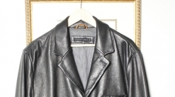 Perry Ellis, Size large Men's Leather Jacket