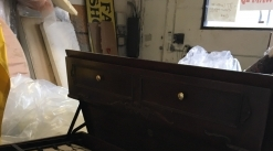 Antique Desk with pull out Mattress