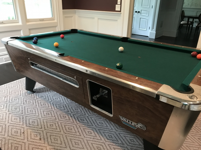 Valley Panther Black Cat Pool Table - Panther pool table