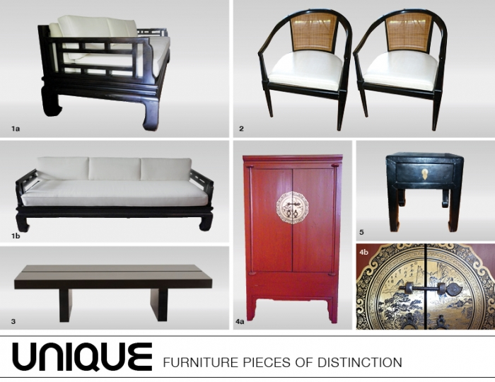 Eclectic Furniture Pieces of distinction for your living