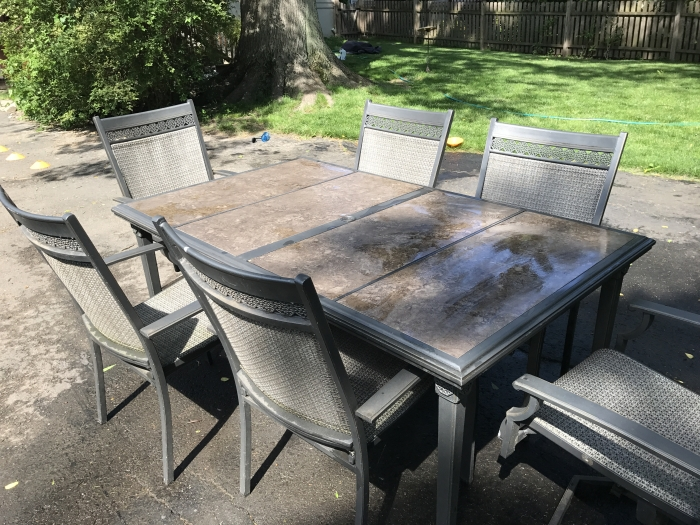 Patio table and chairs for sale for Patio table and chairs sale